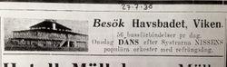 Vikens havsbad 1938