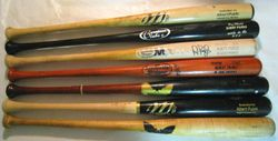 A Few Of My Albert Pujols Game Used Bats