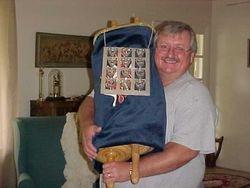 Mike Holding Torah