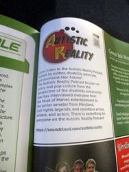 Advertisement for Autistic Reality Podcast in Starburst Magazine #475: The Mandalorian Collectors¿ Edition at The Wombatorium 2.0: A Capital Idea