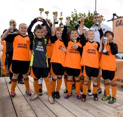 Robins Cup Runners Up