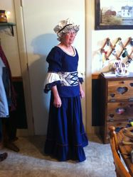 Women's Colonial Costume