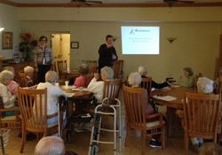 Fall Prevention Presentation at Seasons
