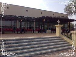 Princess Sabeeka park seating area next to the Awali Library