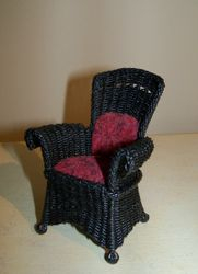 Black bay chair