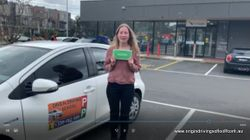 Pass First Time at Mooroolbark !! Well Done Sarah Vanderkolk