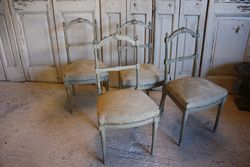 SOLD #18/241 Set of 4 Chairs SOLD