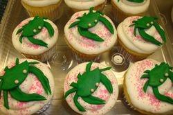 Fondant crab cupcakes $6 each