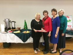 Norma, Nelda, Joanne, & Hilda, our Party Team