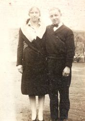 Elda Mabel (Norris) and Harold M. Thompson