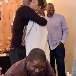 Demetria McKinney at her father, Ronald McKinney's Surprise Retirement Party - January 15, 2019