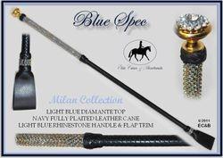 Blue Spec Milan Cane $209 +Post