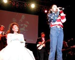 Loretta & Jourdan Iren 2003