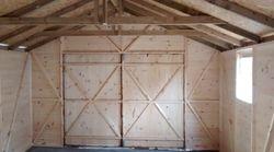 Apex Wooden Garage (18' x 12')