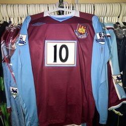 Graig Bellamy 2008/09 home shirt