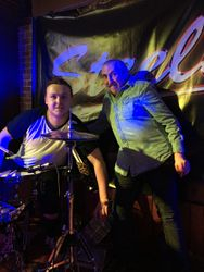 Tom's new 'drum tech'