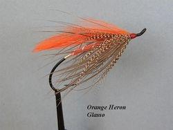 Orange Heron Glasso