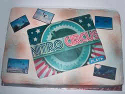 Nitro Circus Edible photo cake