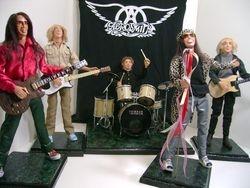 Custom Aerosmith Rock Group