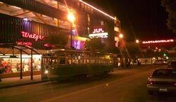 PCC Car #1053 at Night