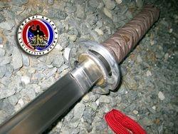 Boyet Bustamante's Spring Steel Custom Made Wakizashi