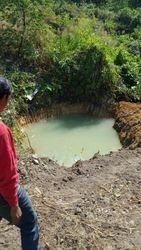 Newly dug Drinkwater pond