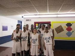 Heat Basketball # 1