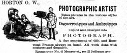 O. W. Horton, photographer of Grand Rapids, MI