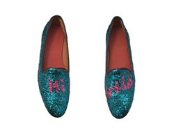 Thaqafah hello dear glitter loafers