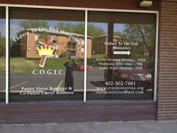 New Sign In The Window