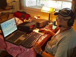 Bill N4IQ's brother Phil AC4Q