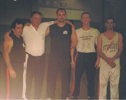 Master Beau, Master Kevin, Instructor Tony, Instructor Clay, Hugh Puttock