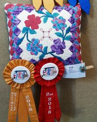 Best Hand Quilting and 2nd Place - Miscellaneous