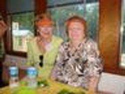 Sandra Barr and Bootsie