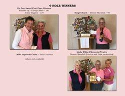 9 Hole Winners