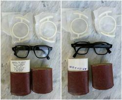 Vintaziniai spec. akiniai nenaudoti. Kaina 23
