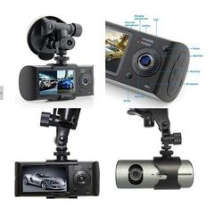 Vehicle-Mounted DVR with Double Cameras