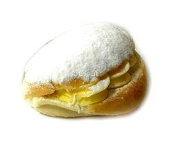 Pudding broodje