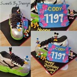 Disney Marathon Cake