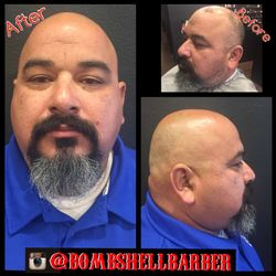 Foil Shave, Clean Shave, Goatee Clean Up n Shaping