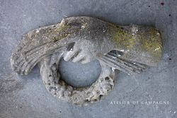 #29/054 FRENCH  MARBLE HAND
