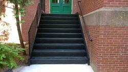 After Image 1: New Color Galvanized Staircase Fully Installed