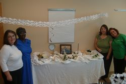 Surprise bridal shower for one of our GRANDS