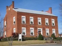 Histortic White County Courthouse
