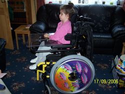 My first Wheelchair