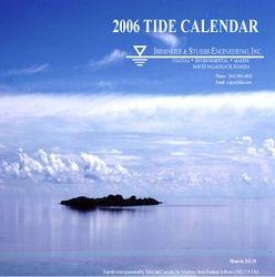 2006 Tide Calendar Cover
