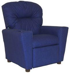 #401C Child Recliner  - Solid Blue cotton
