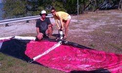 Gene & Kara -  Kiss The Sky Kiteboarding kitesurfing