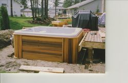 Hot Tub and Deck Combo #1