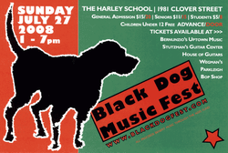 Black Dog Festival Graphic
